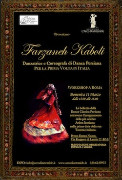 Workshop di danza di Farzaneh Kaboli